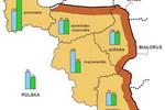 Strefa przygraniczna w Polsce: ludność i powierzchnia I kw.2010