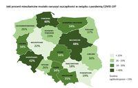 Jaki procent mieszkańców musiało naruszyć oszczędności w zw. z pandemią?