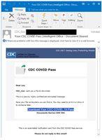 Fałszywy e-mail od CDC