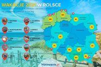 Wakacje 2021 w Polsce