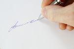 Jak złożyć podpis na wekslu?