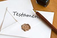 Roszczenie o zachowek składa się przeciw spadkobiercom testamentowym