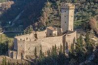 Zamek w Umbrii